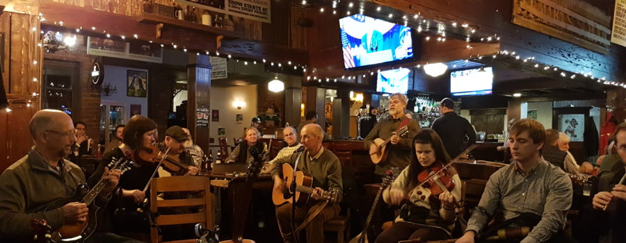 Tuesday Night Music Session starting again at the Corktown