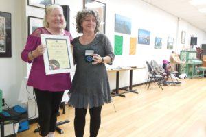 Siobhan Lynch presented Comhaltas Ceoltóirí Éireann Service Award
