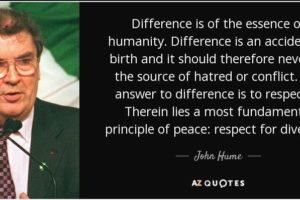 John Hume Passing – August 3, 2020